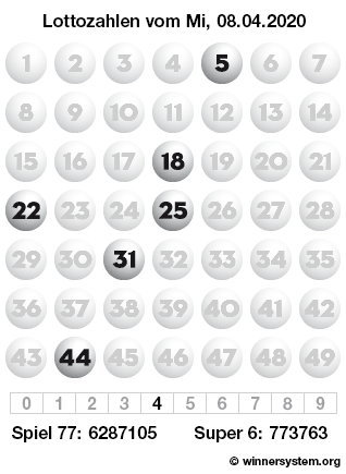 Lottozahlen 26.10.2021