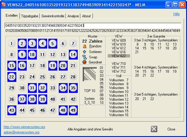 lottosysteme erstellen