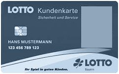 Kundenkarte Lotto Bayern