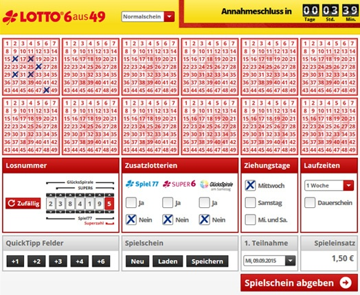 Was Kostet Lotto